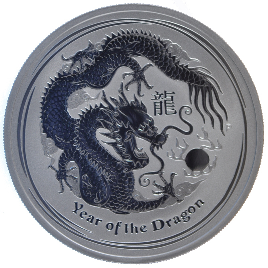 1oz Year Of The Dragon Australian Silver Coin From 163 69 89