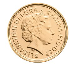 Half Sovereign 2002 Golden Jubilee
