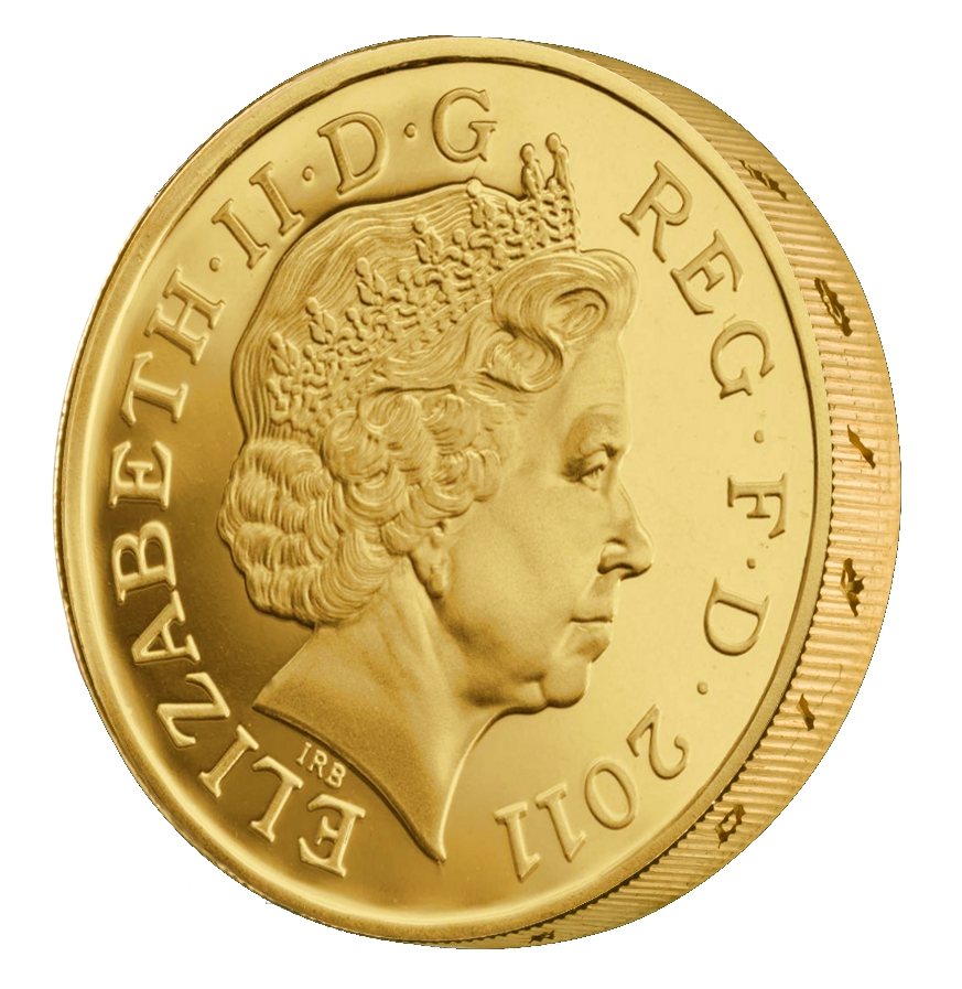 Buy One Pound Gold Coins Bullionbypost 174 From 163 470