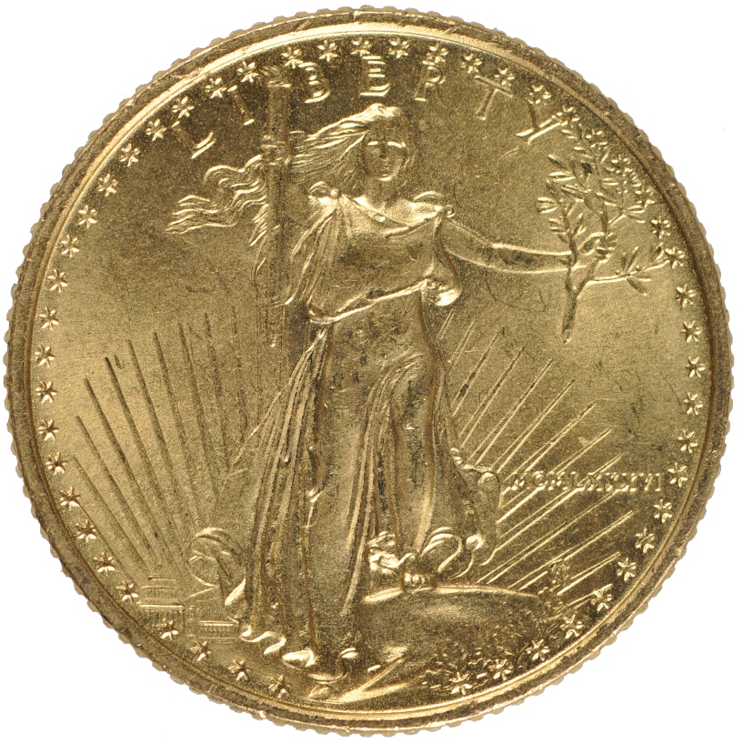 Tenth Ounce Gold Eagle From 163 99