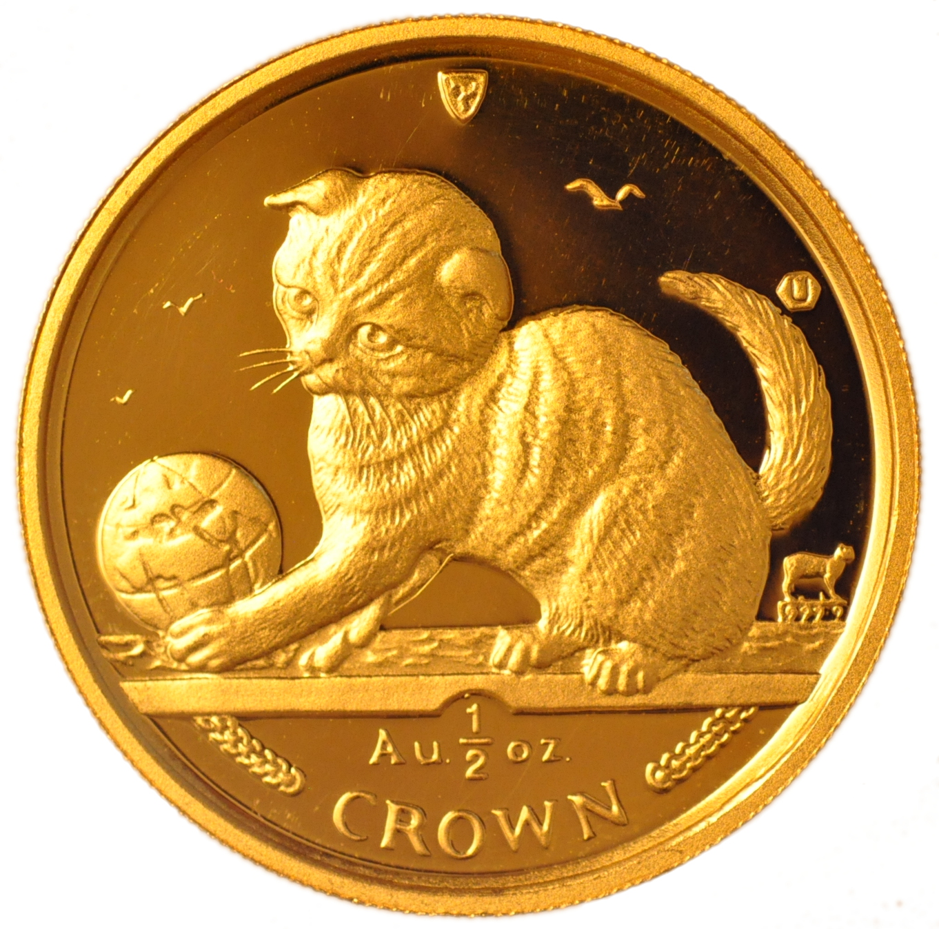 Buy Half Ounce Isle Of Man Gold Manx Crowns