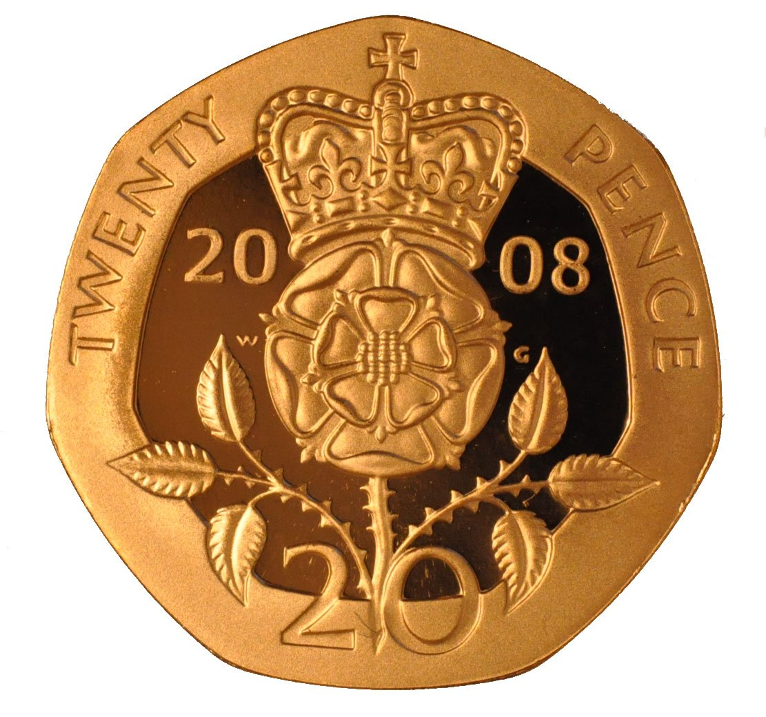 Gold Twenty Pence Piece Buy 20p Gold Coins At