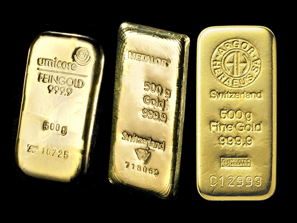 500g Gold Bars Best Value Bullionbypost From 163 12 072