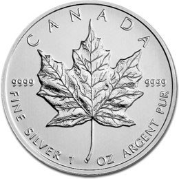 2013 1oz Canadian Maple Silver Coin