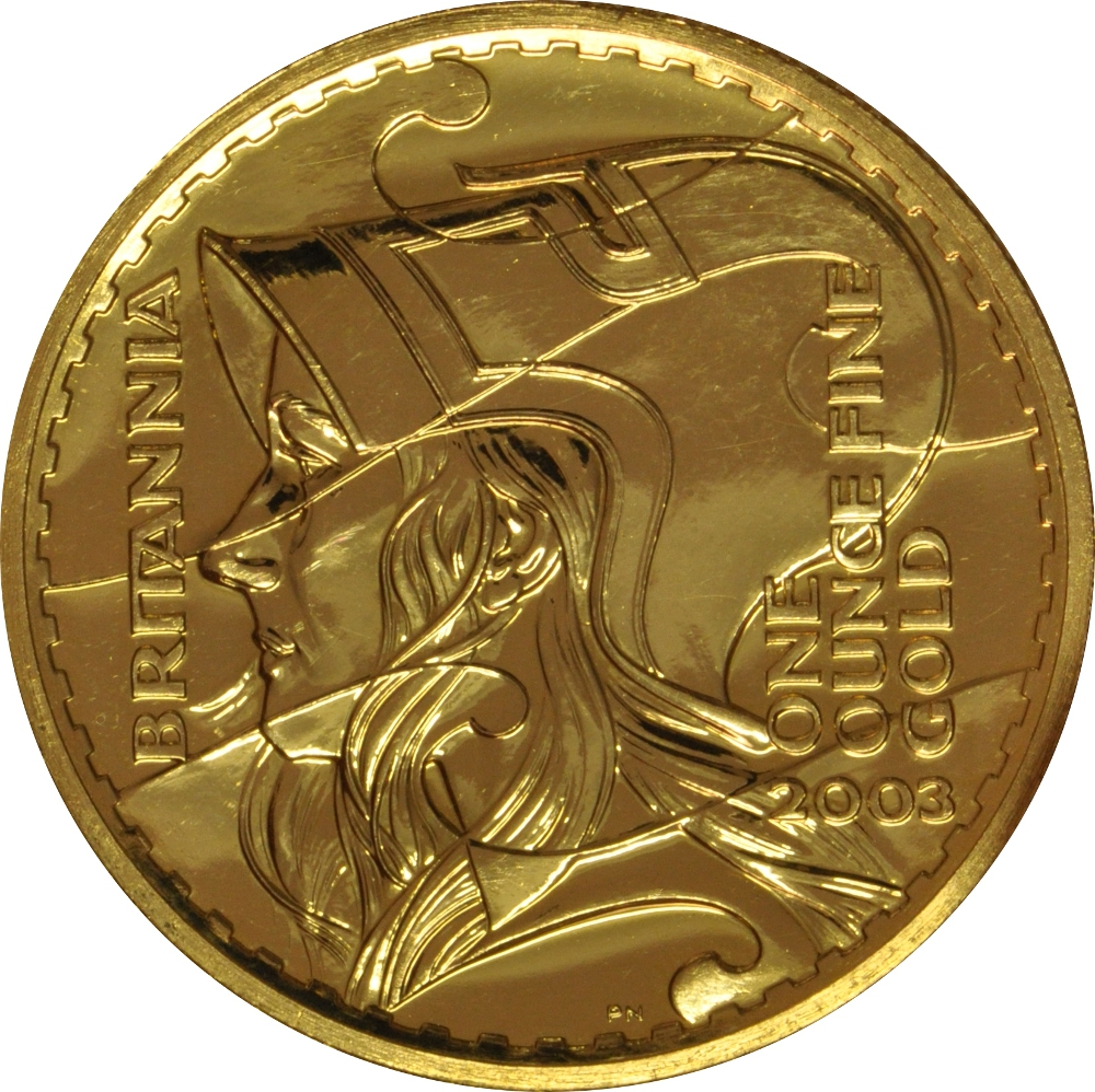 2003 Gold Britannia One Ounce Coin