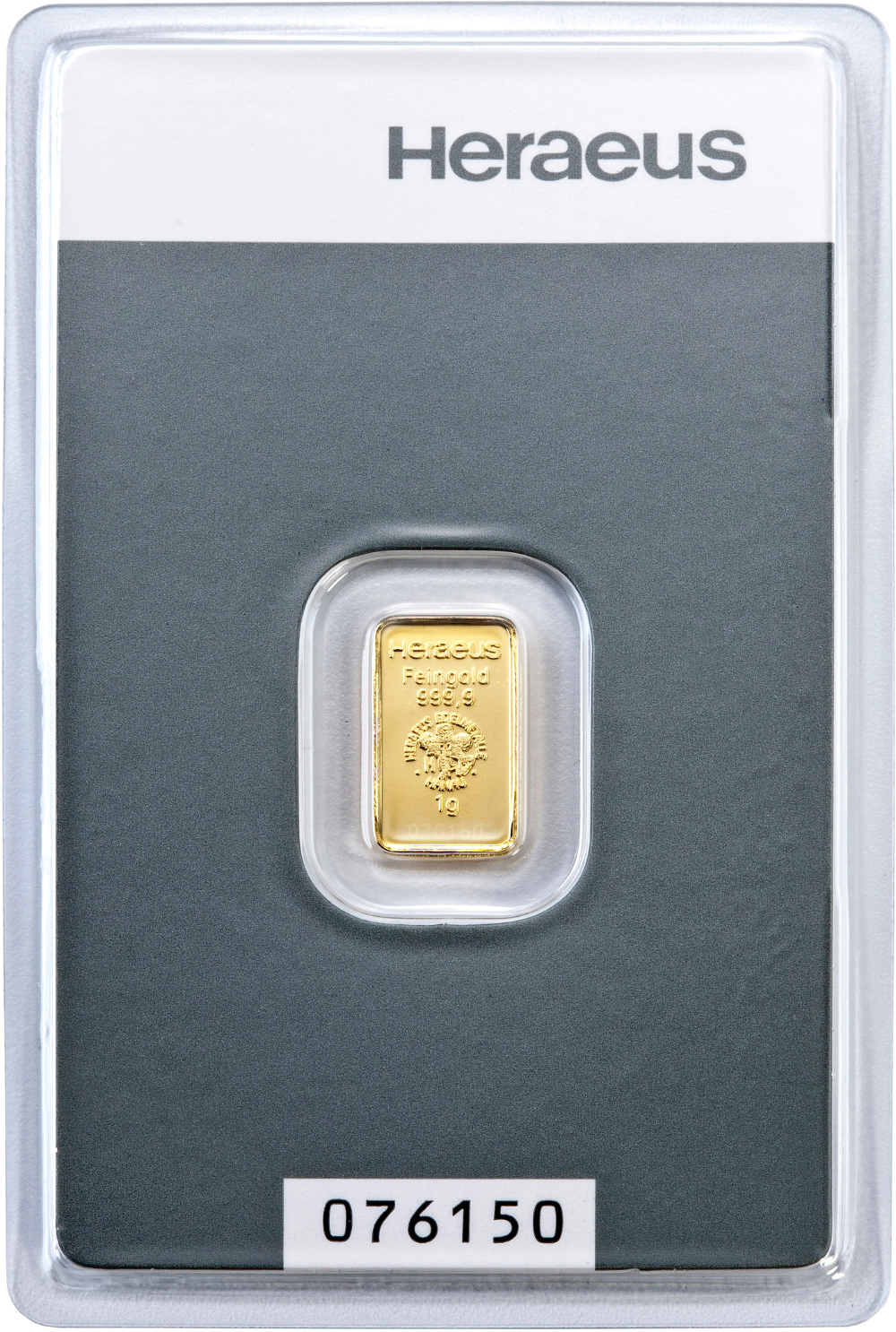 1g Heraeus Gold Bars Bullionbypost From 163 45
