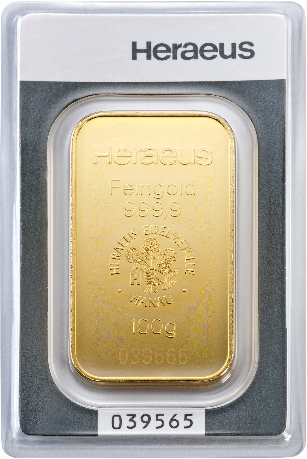 100g Heraeus Gold Bullion Bars Bullionbypost From 163 2 538