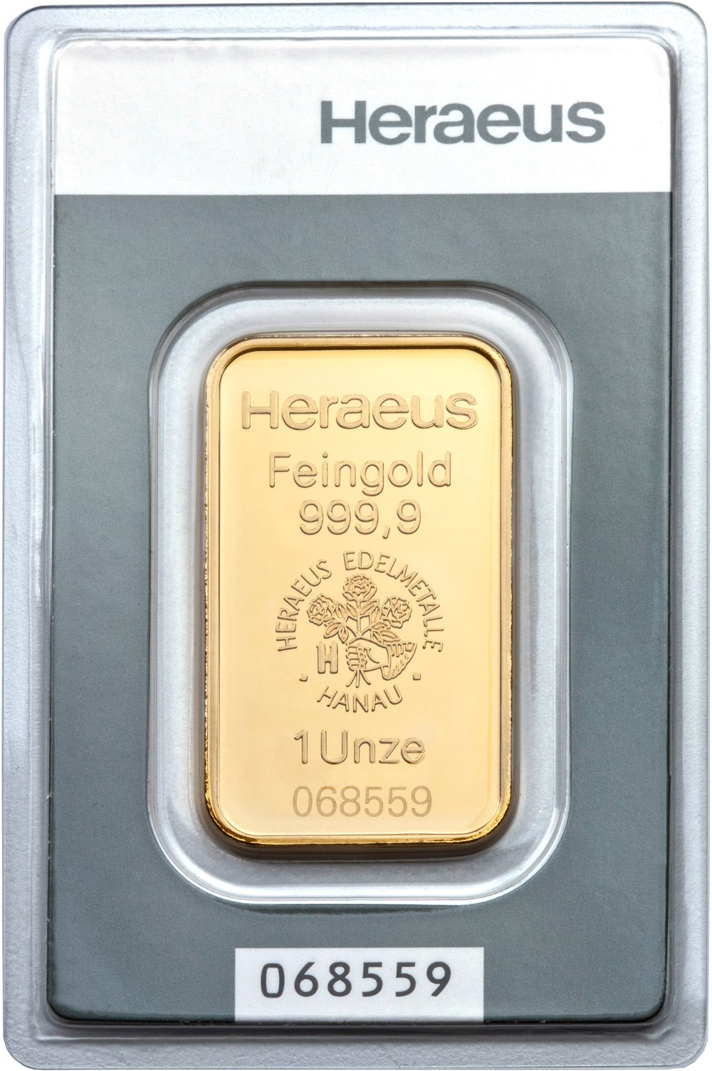 Heraeus 1oz Gold Bars Bullionbypost From 163 1 008