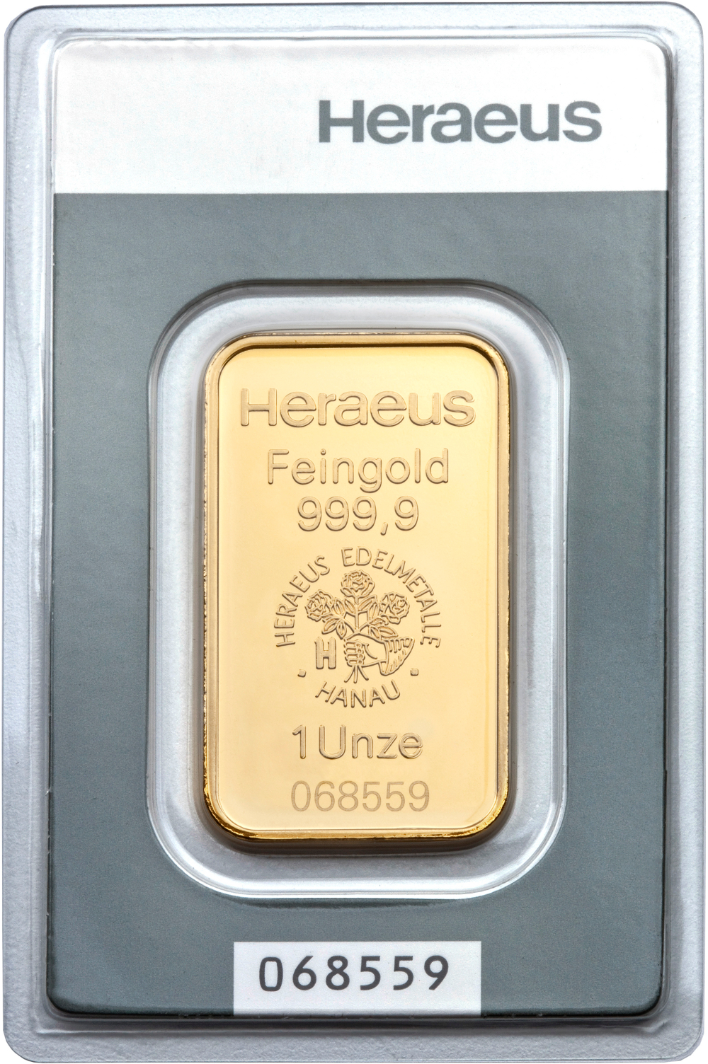 Heraeus 1oz Gold Bars Bullionbypost From 163 1 015