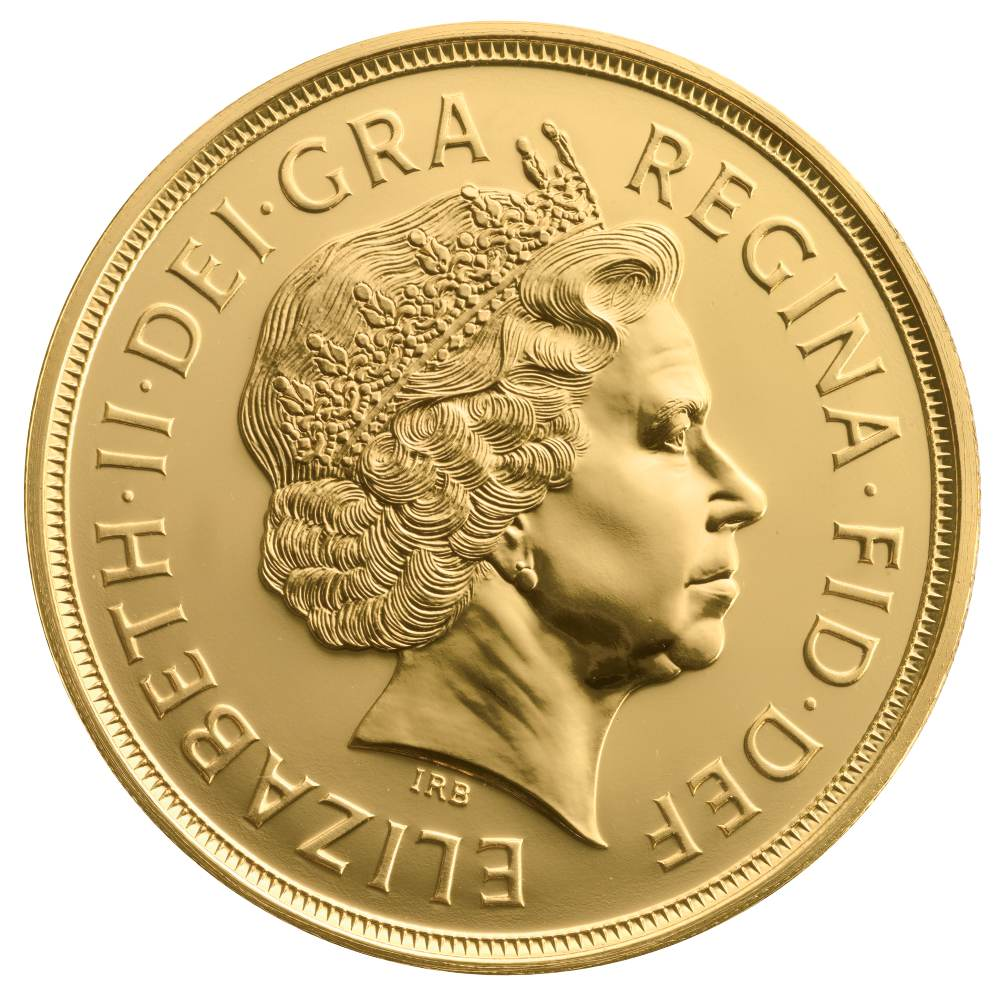 £5 British Gold Coin (Quintuple Sovereign)