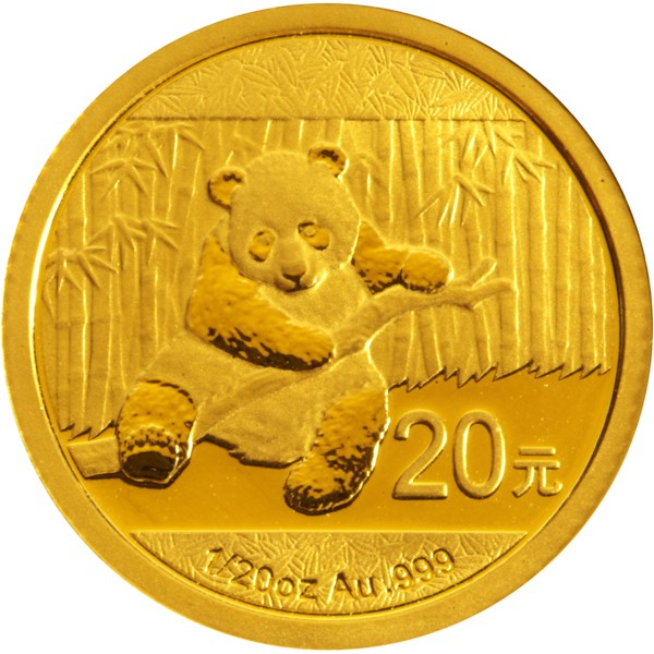 2014 1/20 oz Gold Chinese Panda Coin