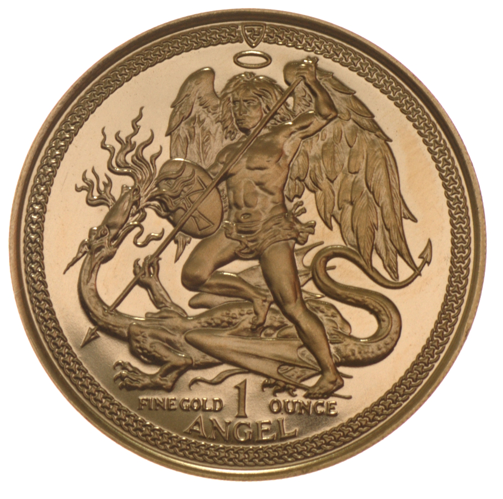 Isle Of Man Gold Coins 1oz Angel Bullionbypost From