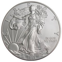 2014 1oz American Eagle Silver Coin