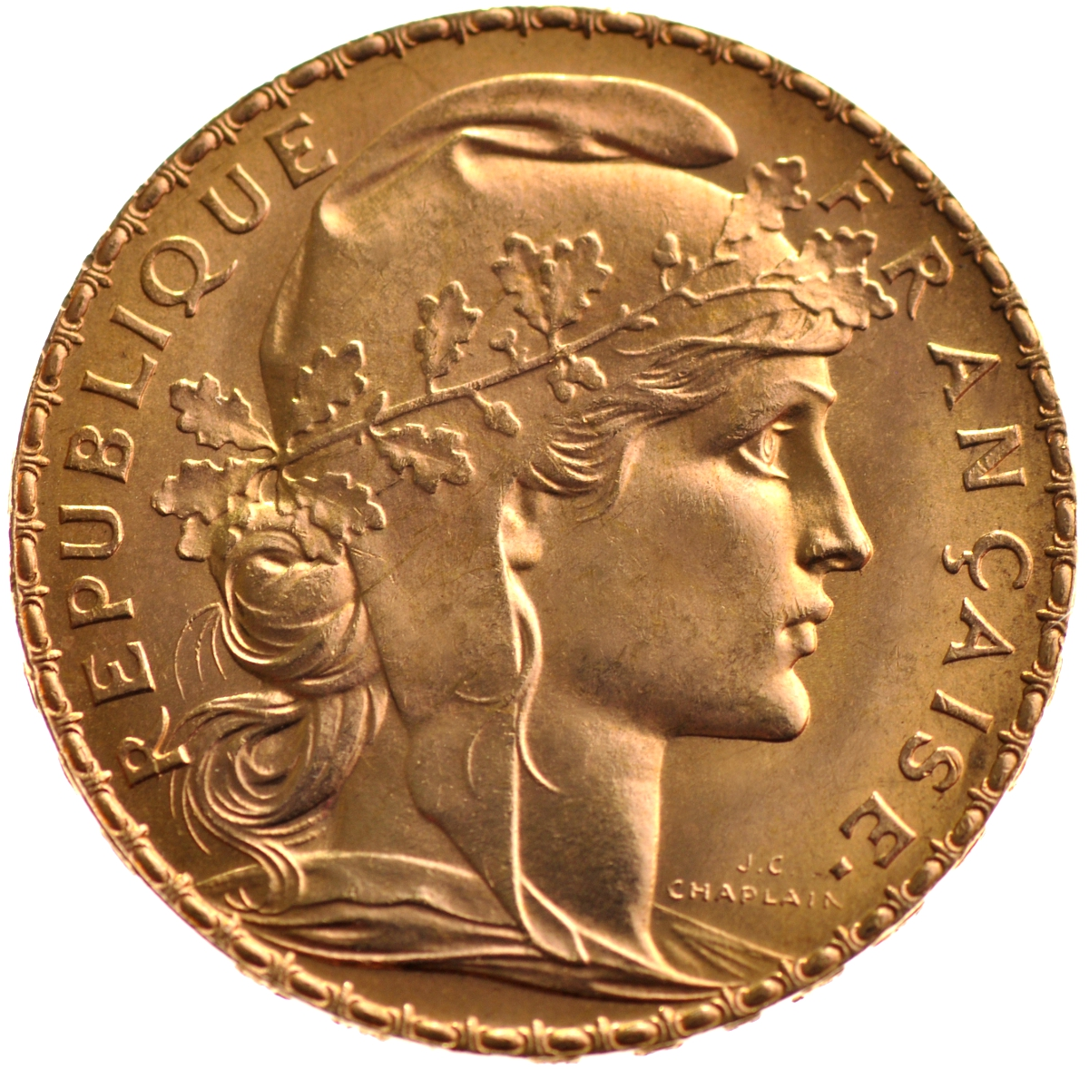 Buy gold 20 french franc coin bullionbypost from 201 for France francs