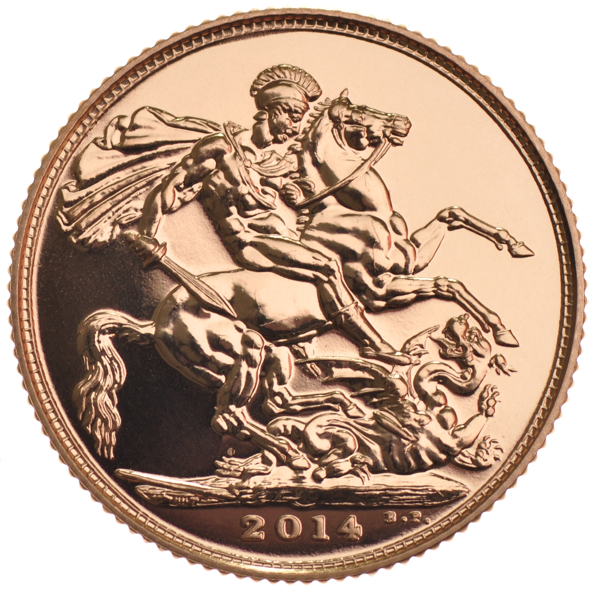 2014 Gold Sovereign