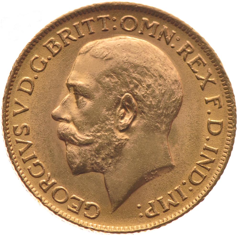 1926 Gold Sovereign King George V S 163 8 565