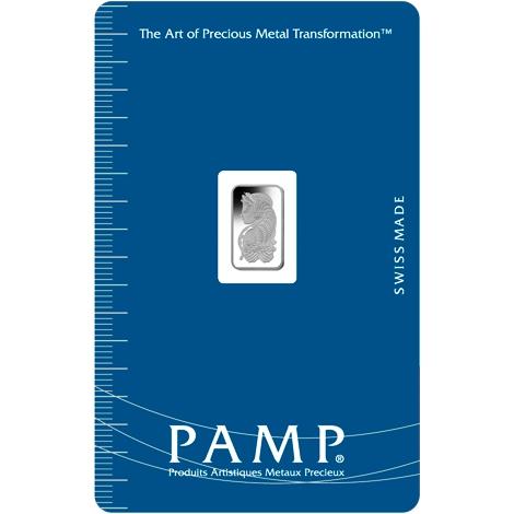 PAMP 1 Gram Palladium Bar
