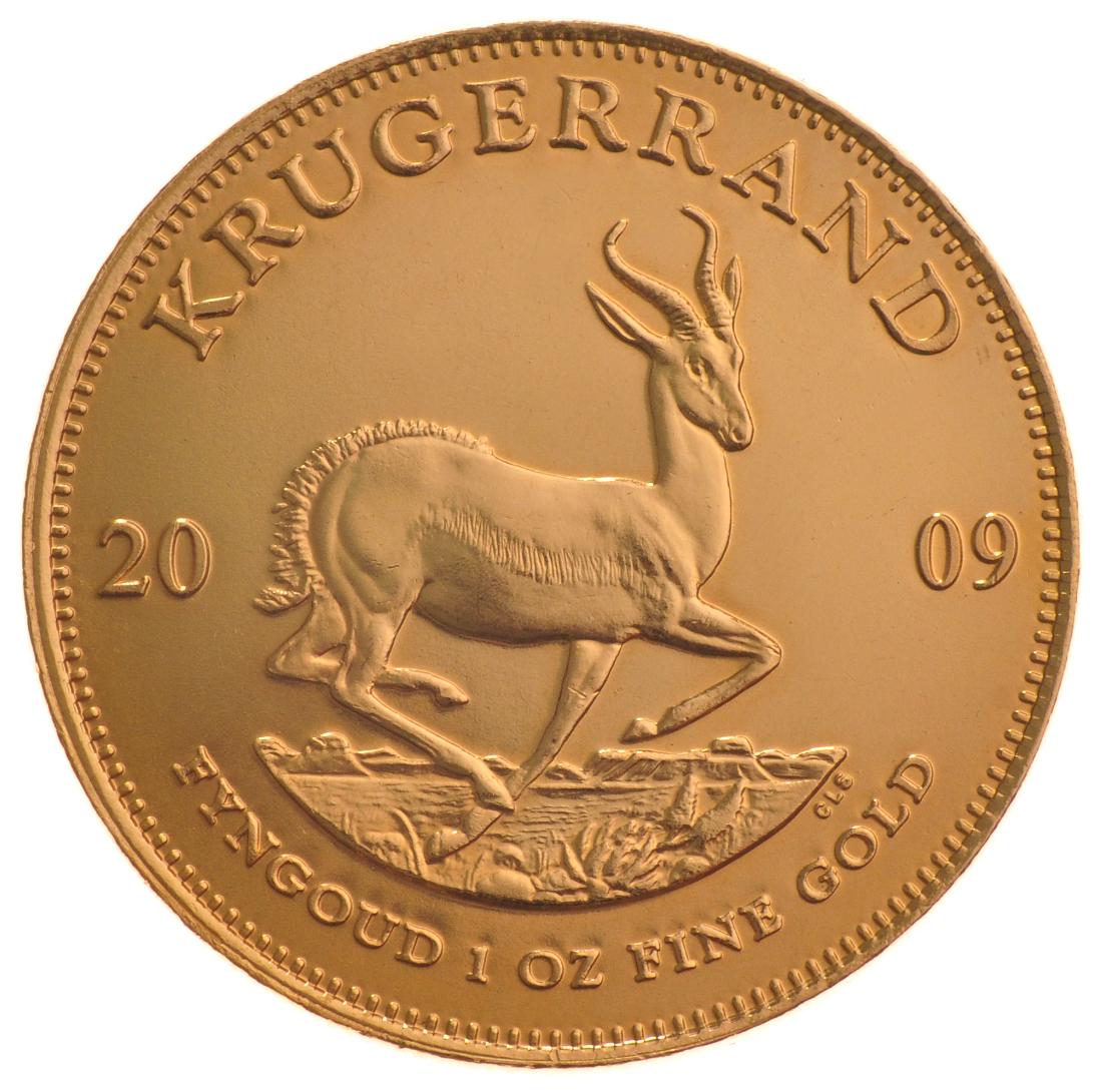2009 1oz Gold Krugerrand 163 1 058