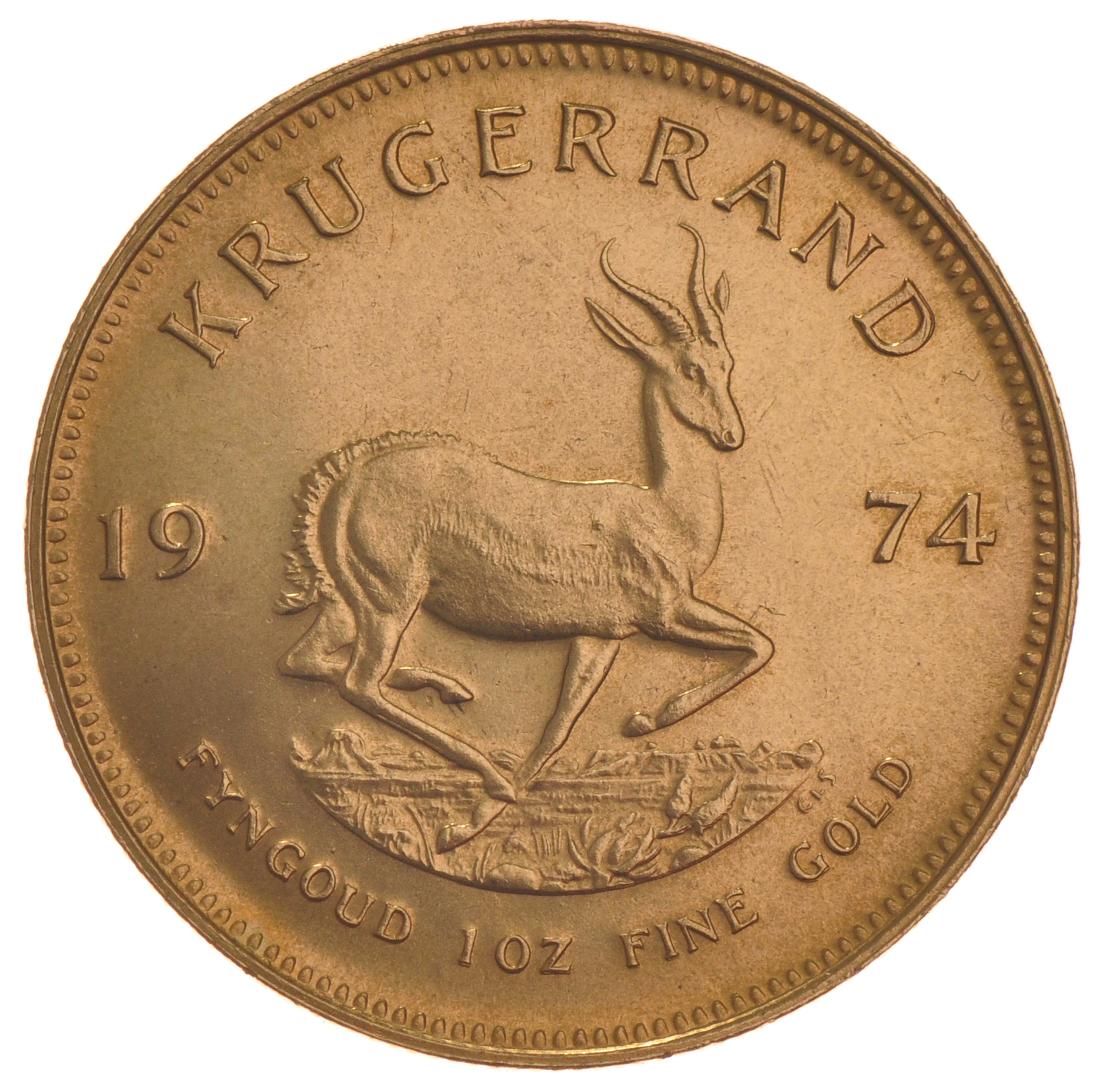 1974 1oz Gold Krugerrand 163 1 053