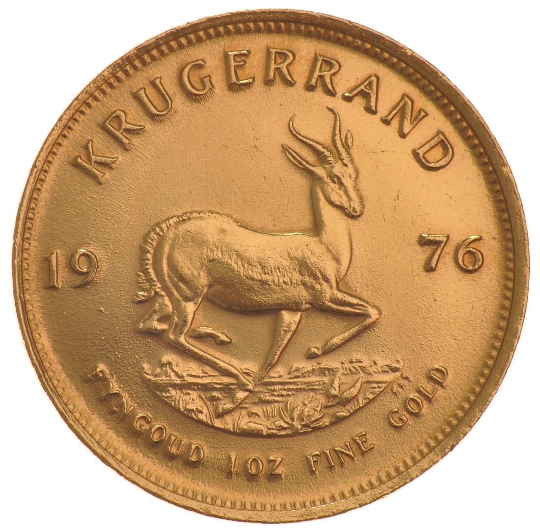 1976 1oz Gold Krugerrand 163 1 094