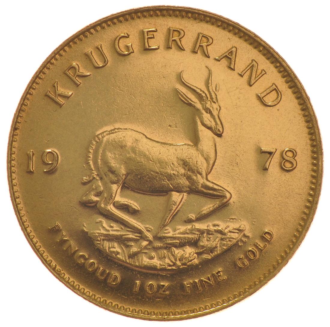 1978 1oz Gold Krugerrand 163 1 048