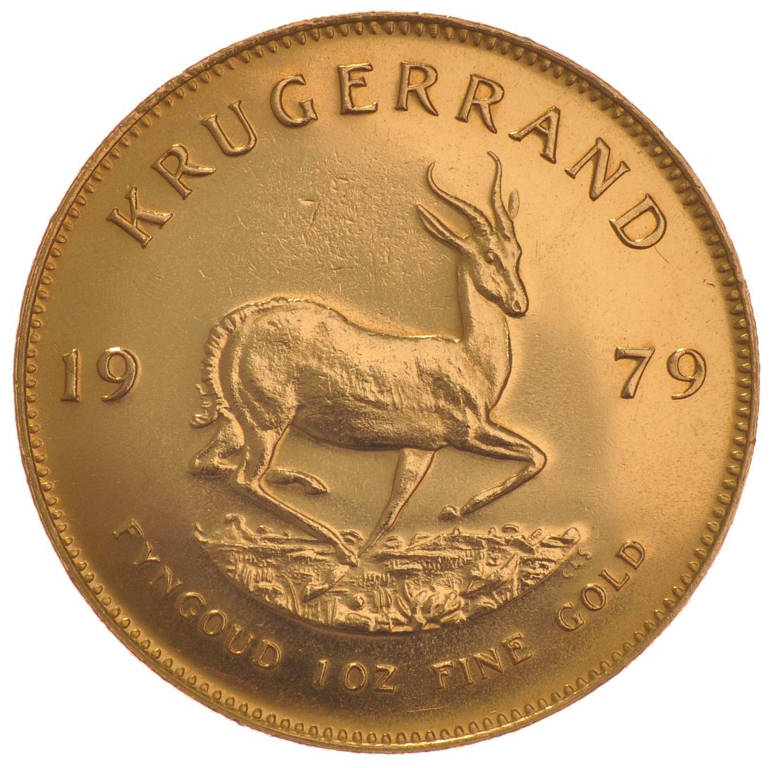1979 1oz Gold Krugerrand 163 1 077