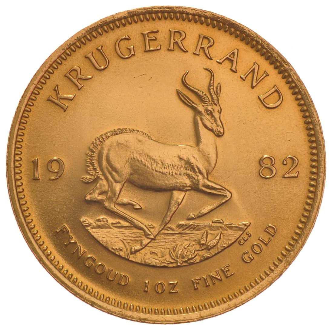 1982 1oz Gold Krugerrand 163 1 049