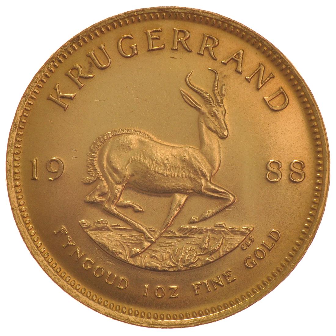 1988 1oz Gold Krugerrand 163 1 134