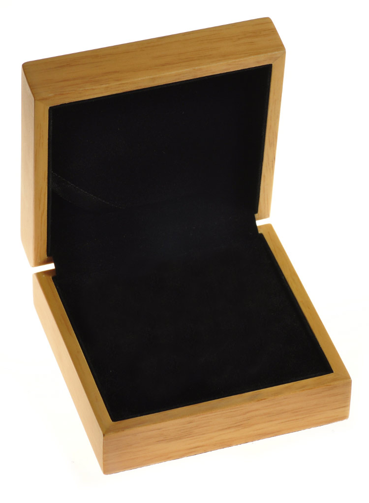 oak gift box for 1oz silver coin bullionbypost from. Black Bedroom Furniture Sets. Home Design Ideas