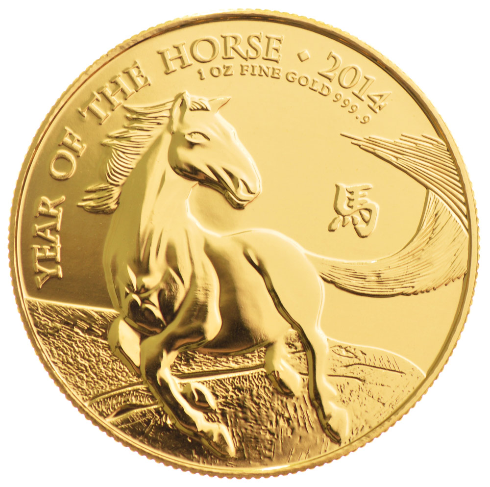 1oz Royal Mint Year Of The Horse Gold Coin From 163 1 119