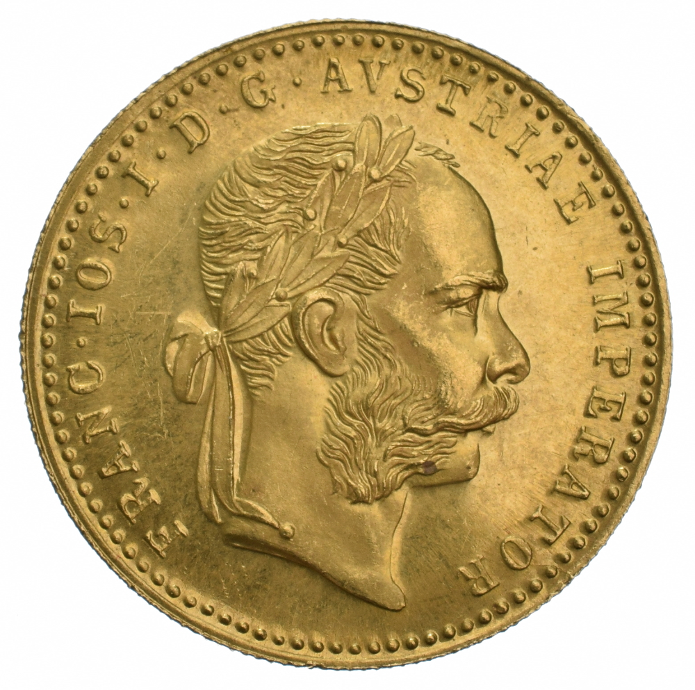 Buy Gold Austrian 1 Ducat Coin Bullionbypost 174 From 163 126