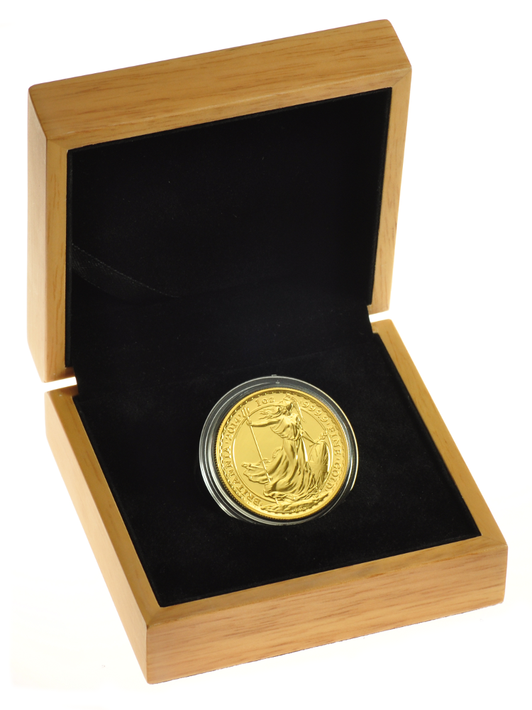 2015 1oz Gold Britannia Coin In Gift Box