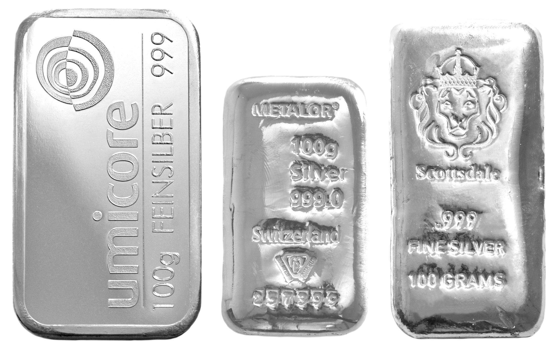 100 Gram Silver Bar Best Value 163 58 73
