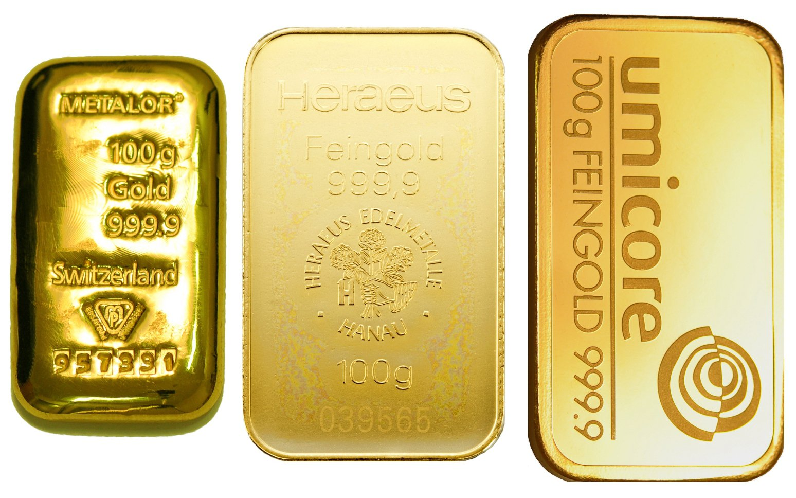 100g Gold Bars Best Value Bullionbypost From 163 3 216