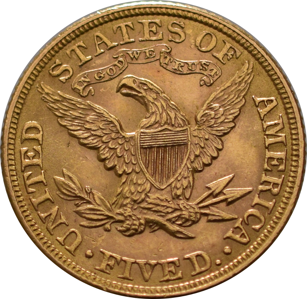 American Gold Half Eagle $5 Liberty Head