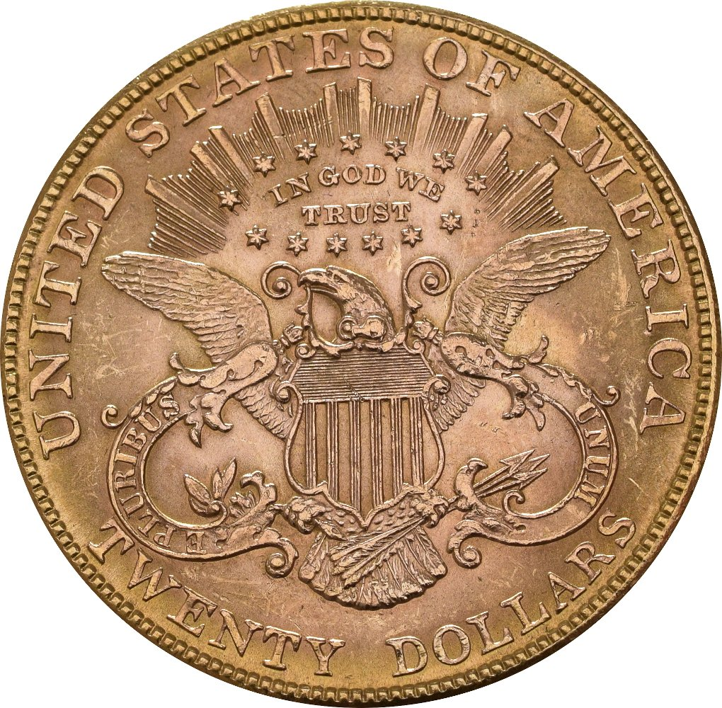 American Liberty Head Gold Double Eagle 20 163 1 014