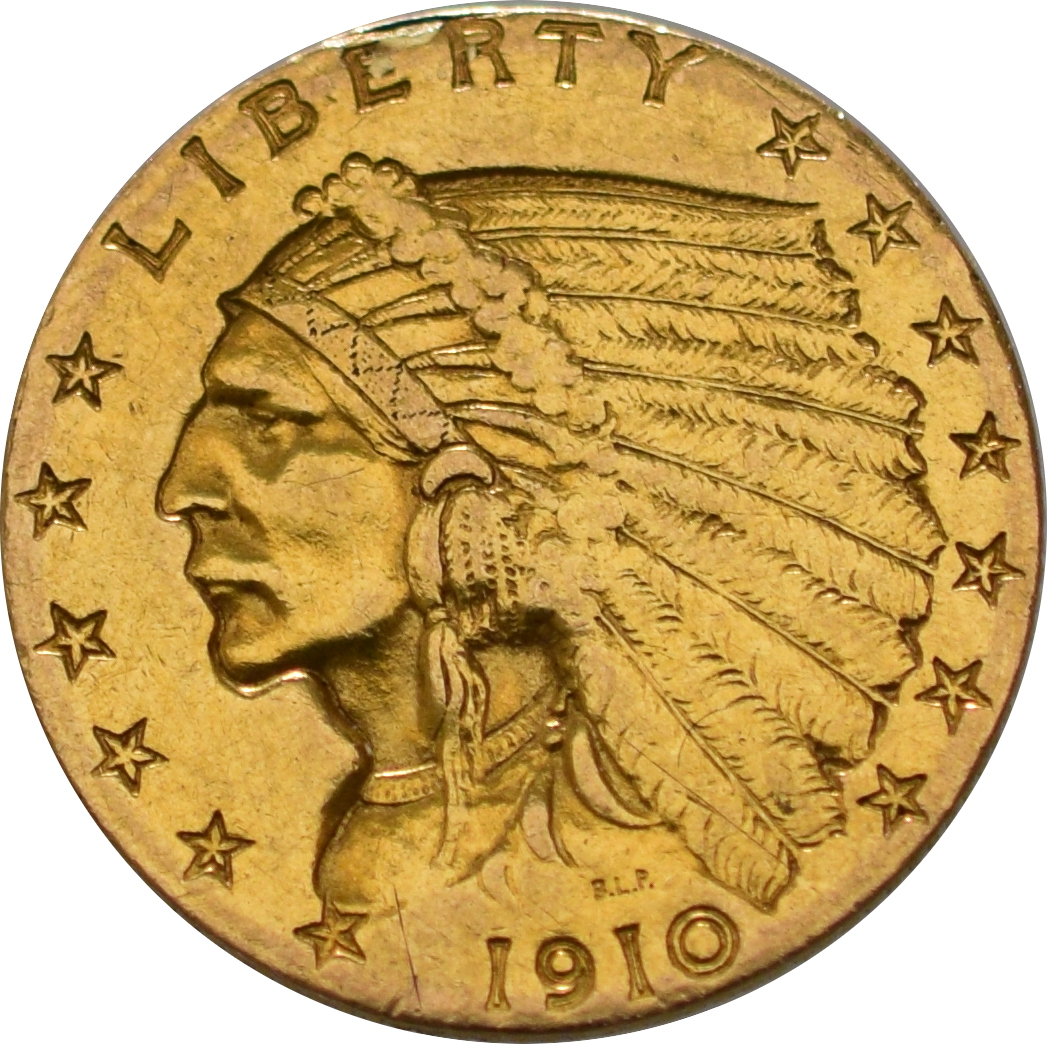 American Gold Quarter Eagle 2 50 Indian Head 163 432