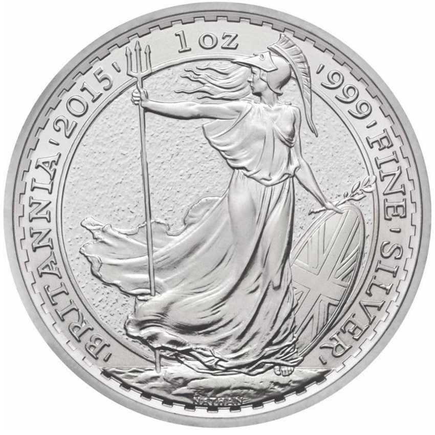 Silver Britannia Coins The Royal Mint Bullionbypost