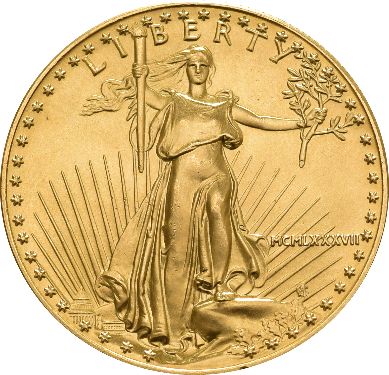 1987 1oz American Eagle Gold Coin 163 1 150
