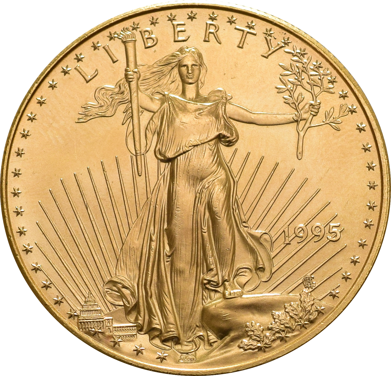 1995 1oz American Eagle Gold Coin 163 1 122