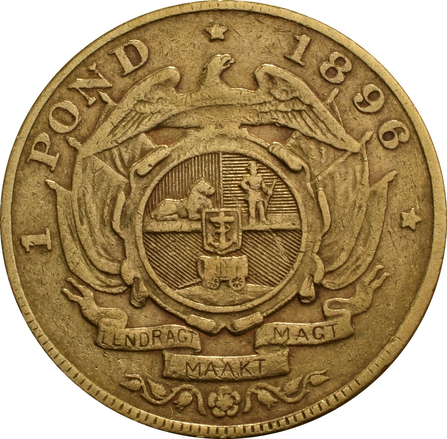 1896 1 Pond South Africa 163 413