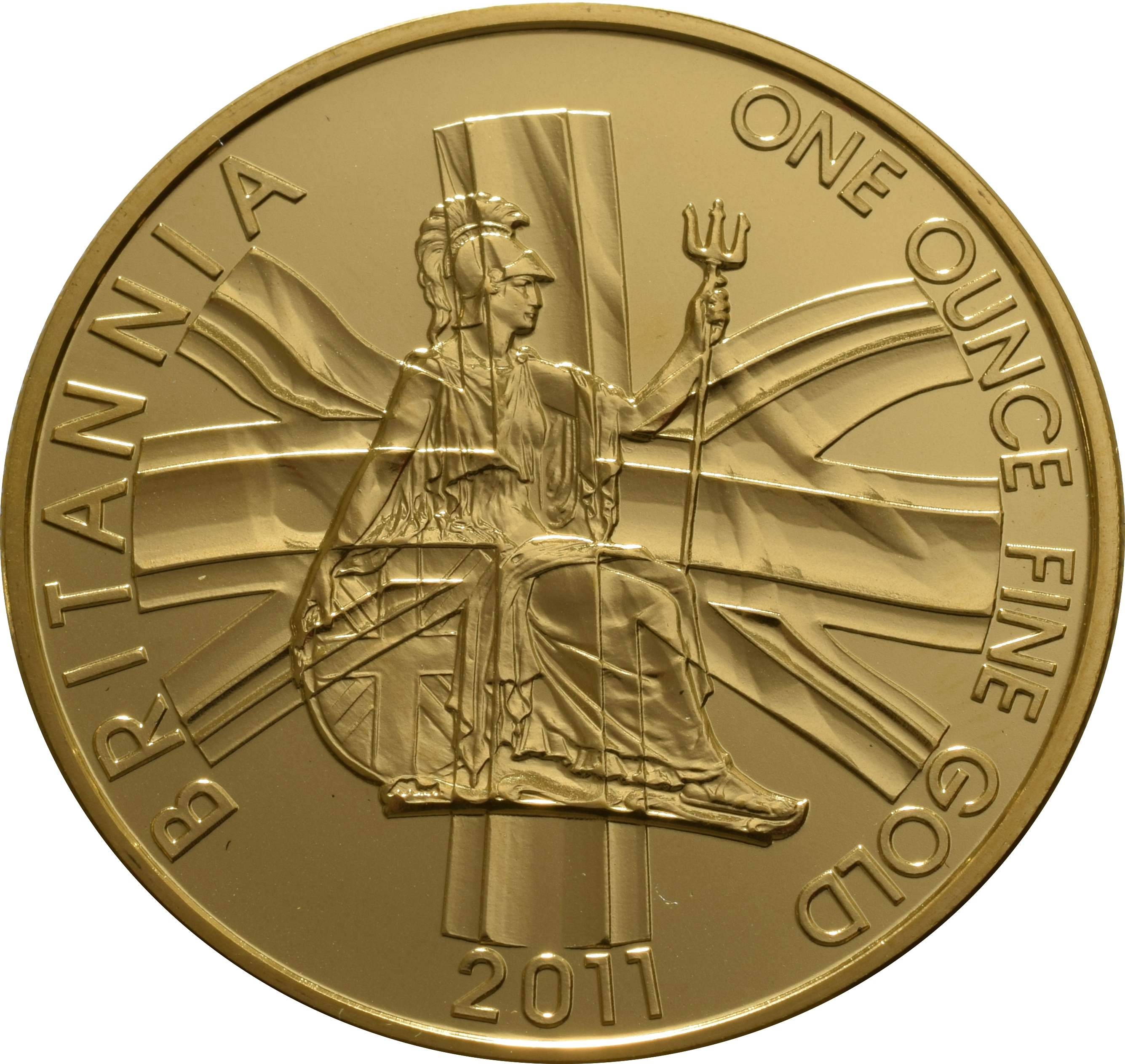 2011 Gold Britannia One Ounce Coin 163 1 080