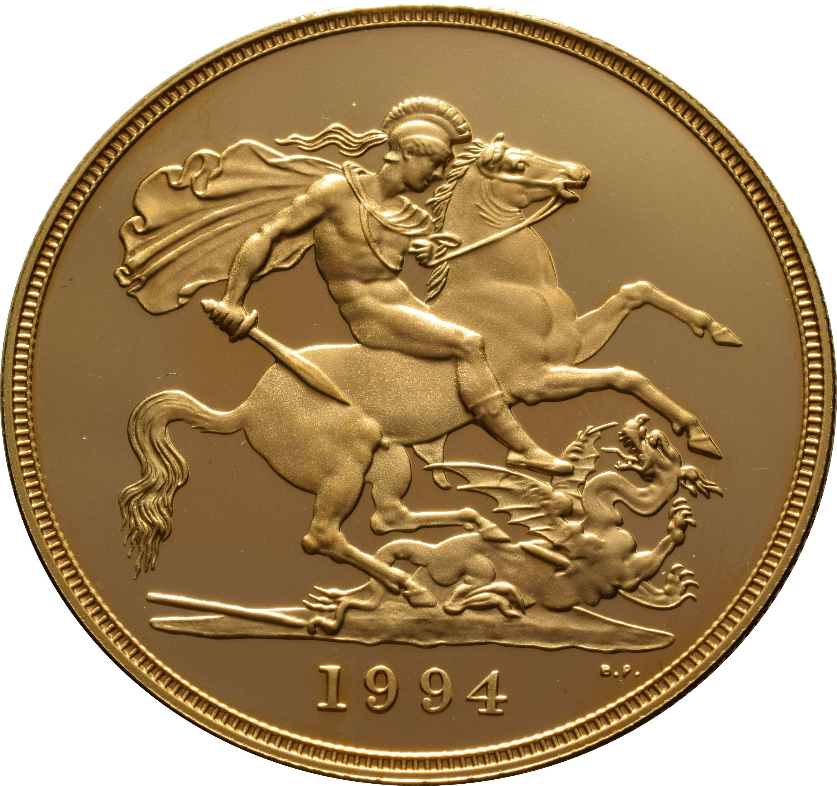 1994 Gold Proof Sovereign Four Coin Set 163 3 158