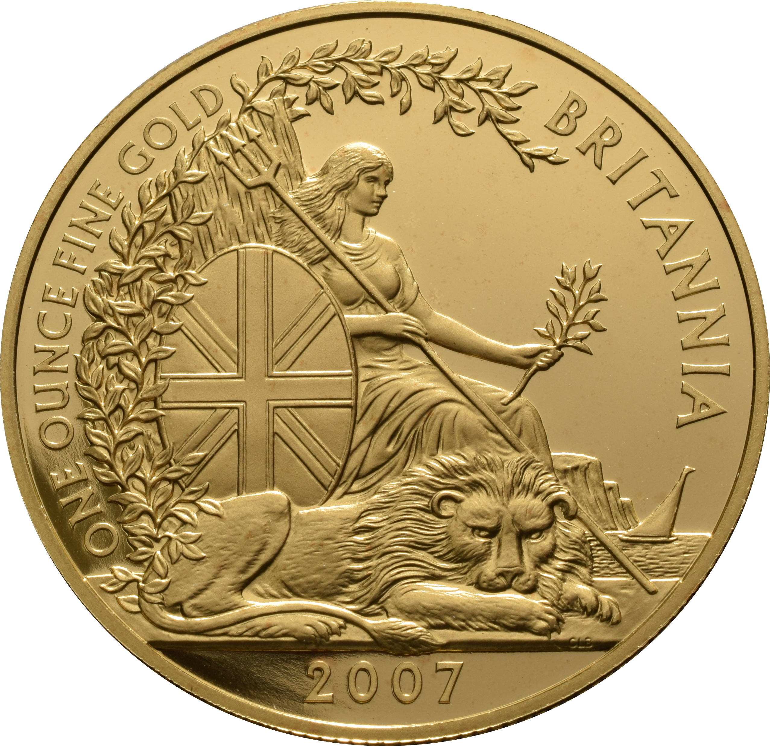 2007 Proof Britannia Gold 4 Coin Boxed Set 163 2 867