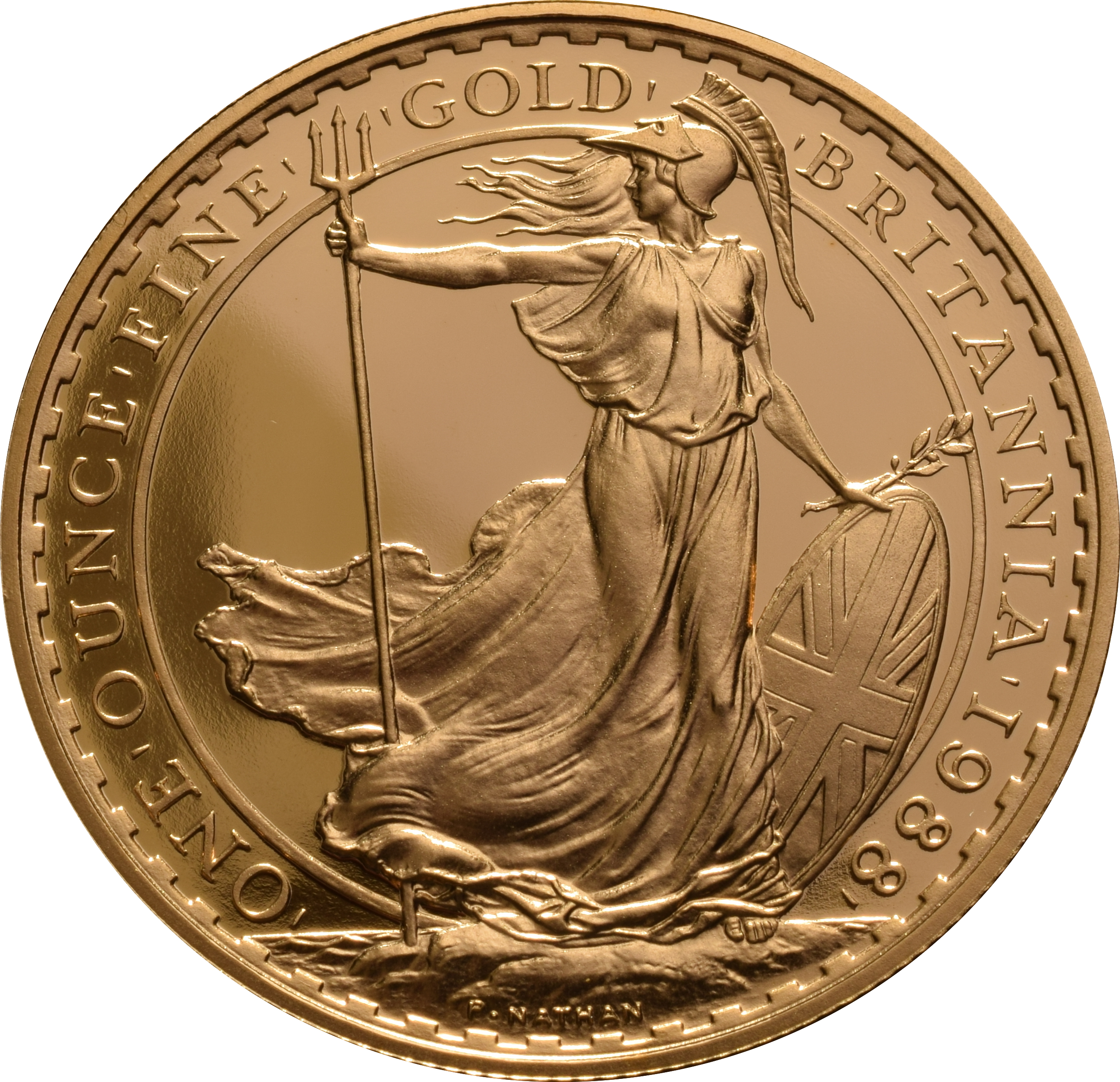 1988 Britannia Proof Gold Coin Collection From