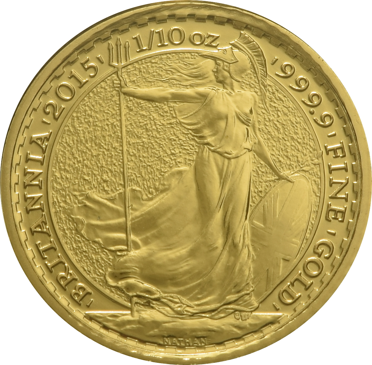 2015 Tenth Ounce Gold Britannia
