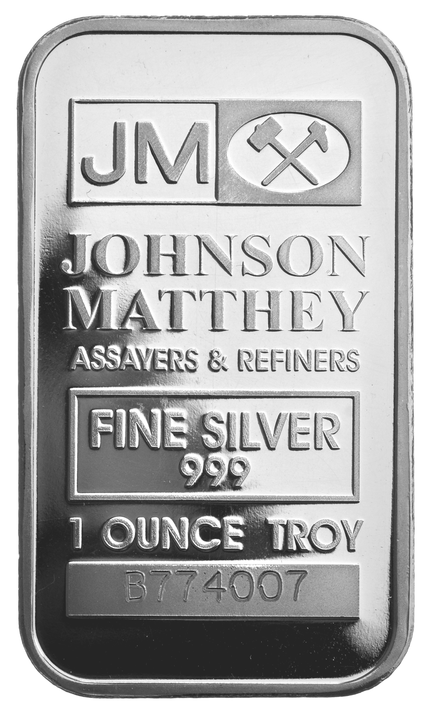 Johnson Matthey 1oz Silver Bar 163 18 60