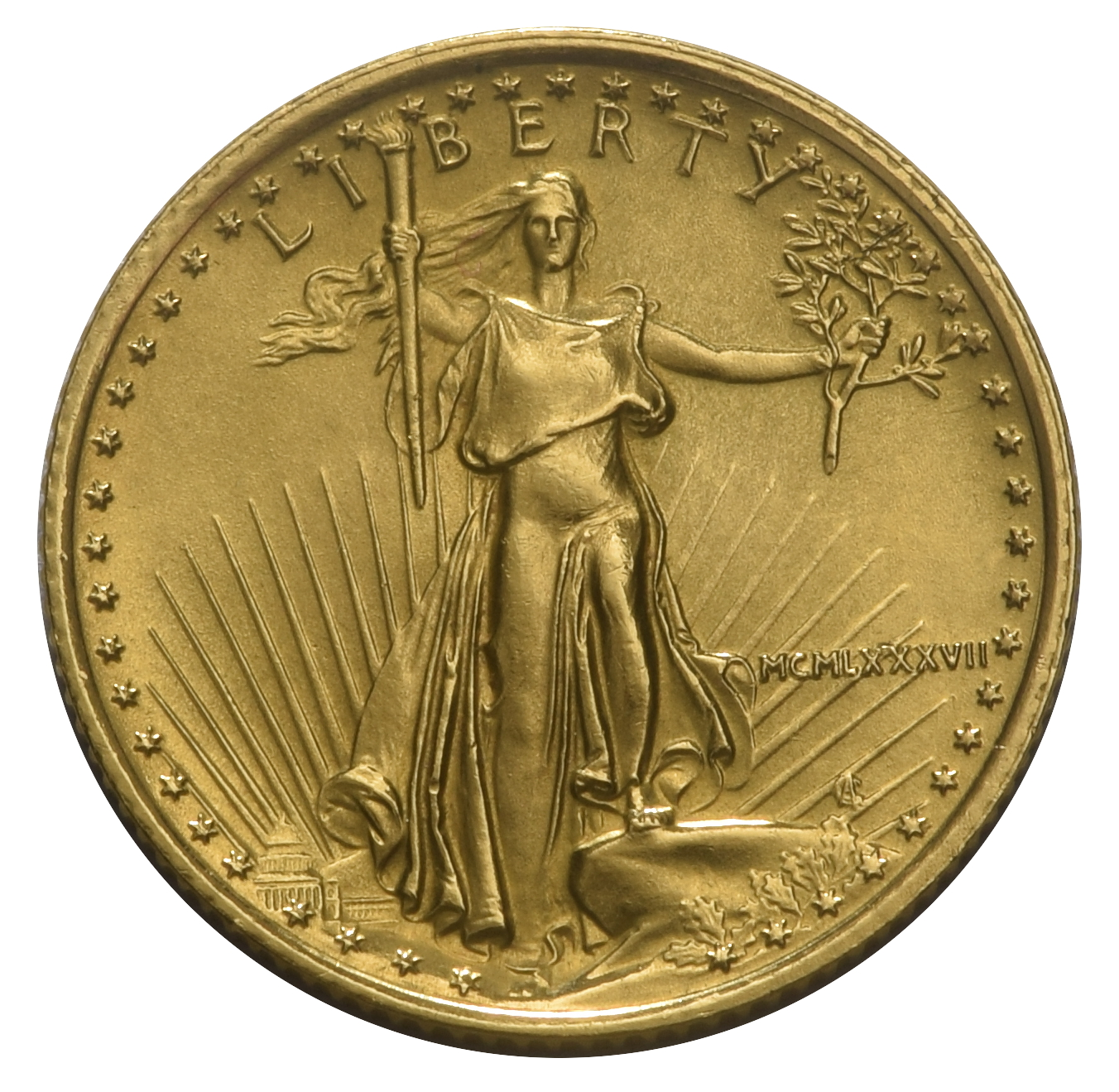 Tenth Ounce Gold Eagle From 163 111