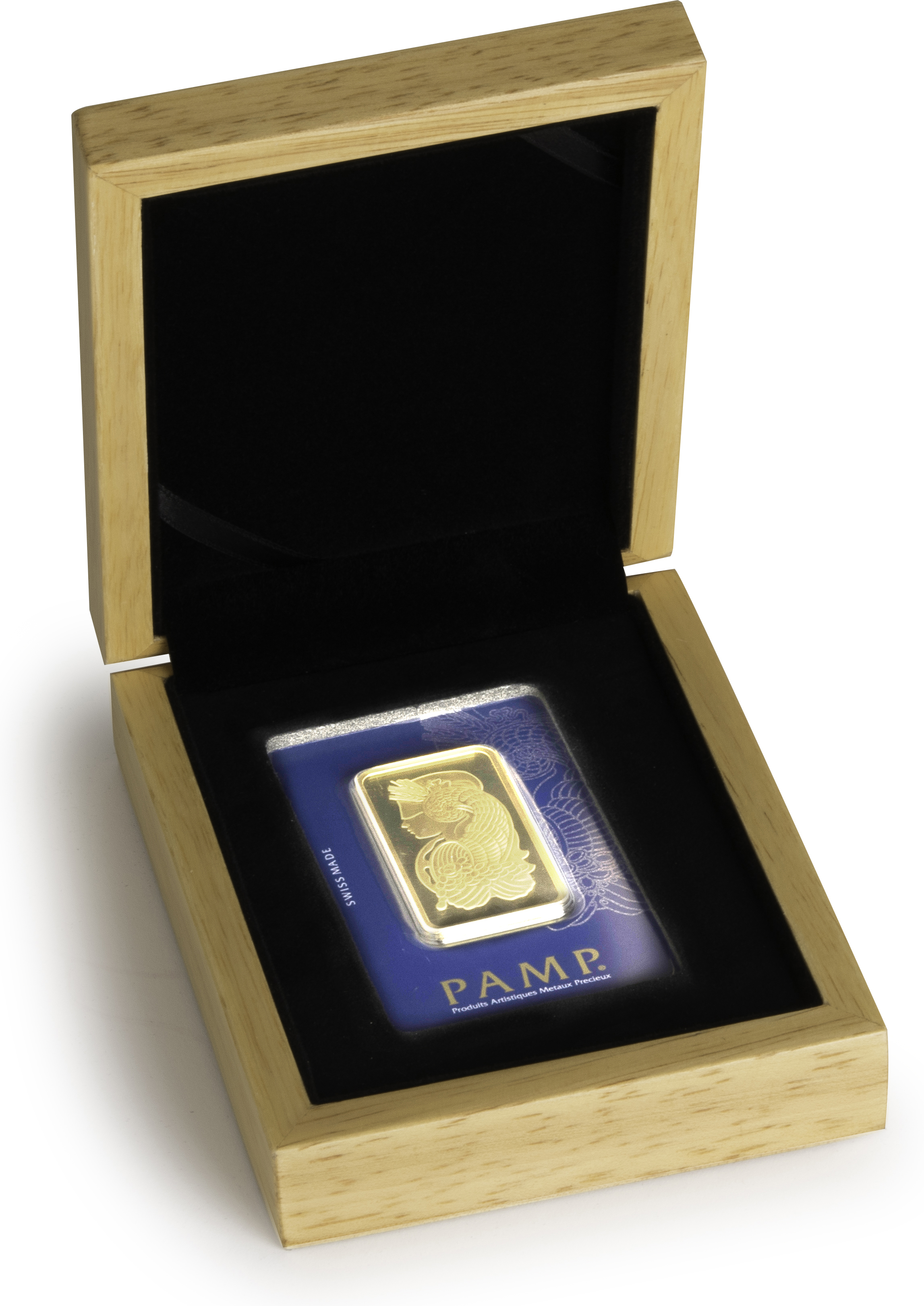 Gift Box Gold : Pamp g gold bar in gift box bullionbypost from ?