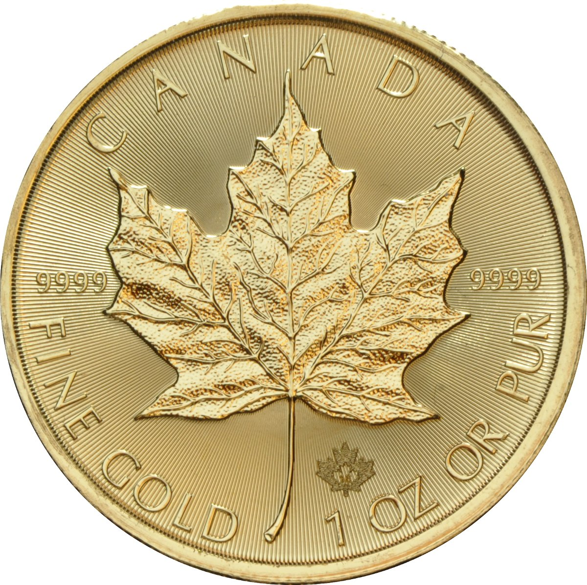 2016 1oz Canadian Maple Gold Coin